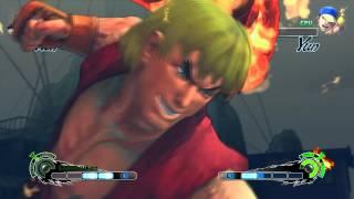Super Street Fighter 4 IV AE PC Ken Playthrough + Secret Evil Ryu Boss fight 1/2 thumbnail