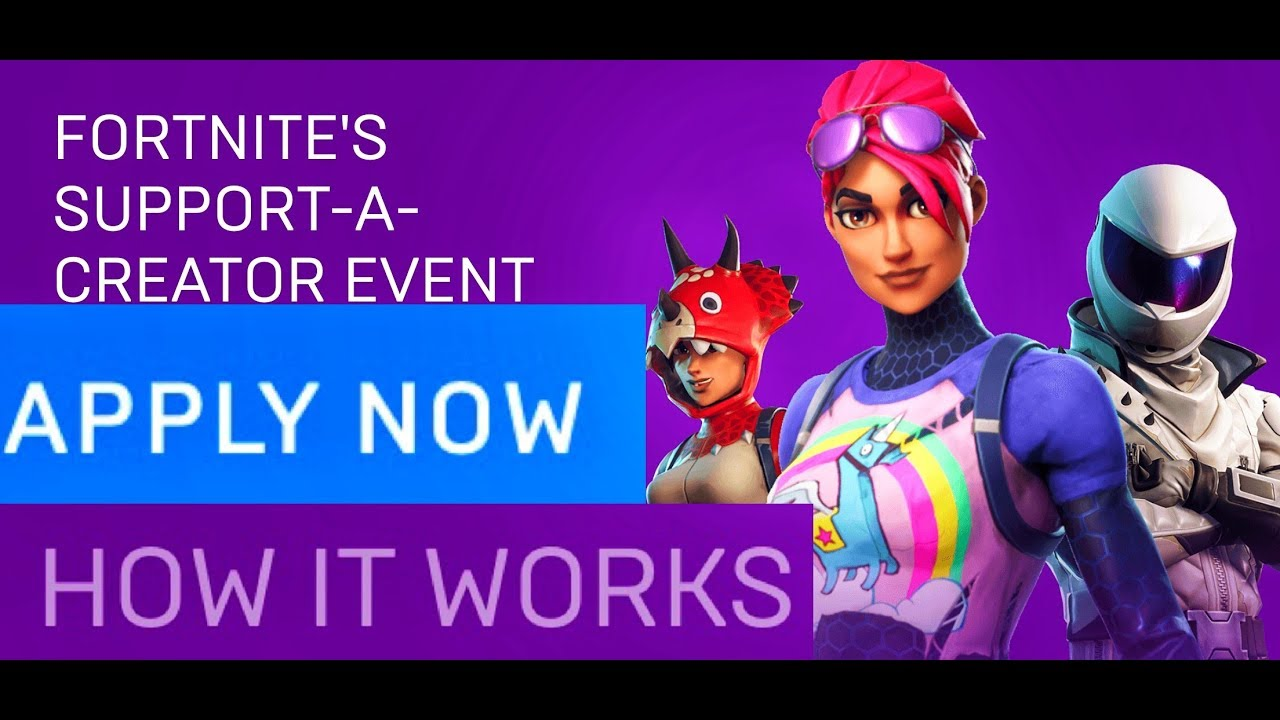 How Do You Get Selected For Fortnites Creator How To Be A Fortnite Creator Full Details Youtube