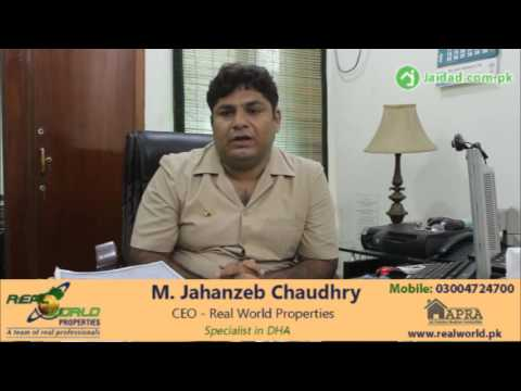 Property Advice for Investor looking property in DHA Lahore and Property Tax 2016 situation