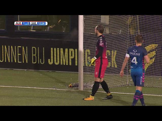 Samenvatting: Almere City FC - GAE (2-0)