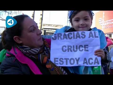 Video | el abrazo al Hospital El Cruce de Florencio Varela en un minuto y medio