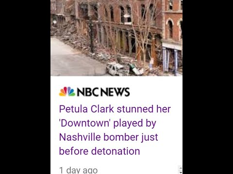 PETULA KNEW DOWNTOWN ROCKET ATTACK (NASHVILLE)