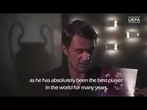 Maldini Talking About Leo Messi