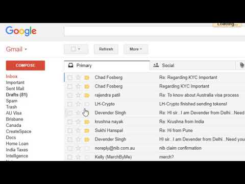 Show Starred Emails, Important , Unread Messages At The Top In Gmail | Gmail Inbox Types