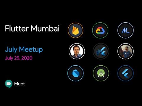 Build Smarter Apps with Flutter & ML By Sivamuthu Kumar | Flutter Mumbai July meetup 2020