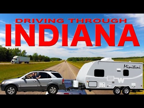 Driving Through Indiana | Traveling Robert