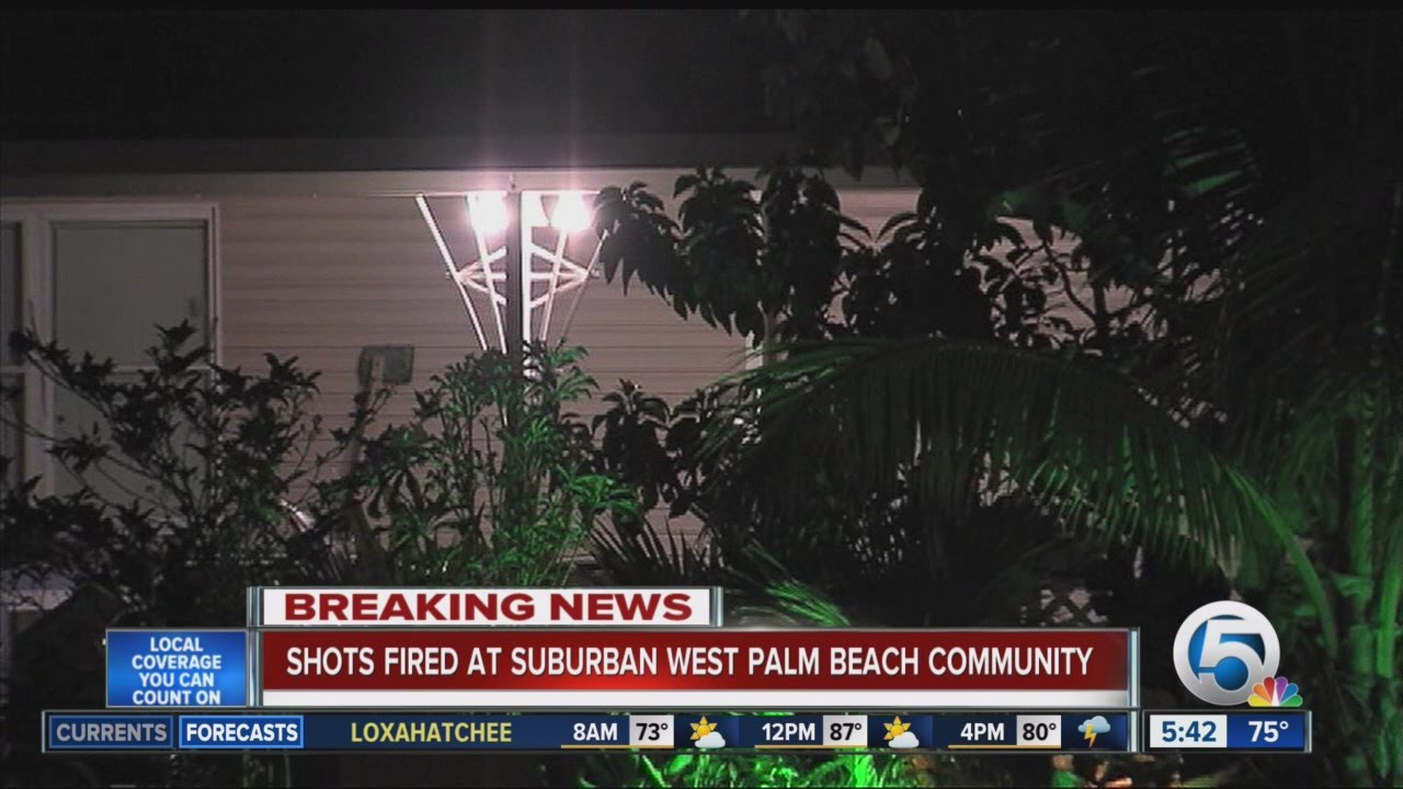 Shots Fired At Casa Del Monte Mobile Home Park In Suburban West Palm Beach