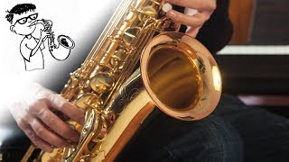 HOW GREAT THOU ART | URIEL VEGA INSTRUMENTAL | CHRISTIAN MUSIC | SONGS ON SAX