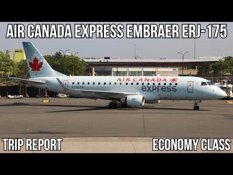 [TRIP REPORT] Air Canada Express Embraer ERJ-175 (ECONOMY) Newark (EWR) - Montreal (YUL)
