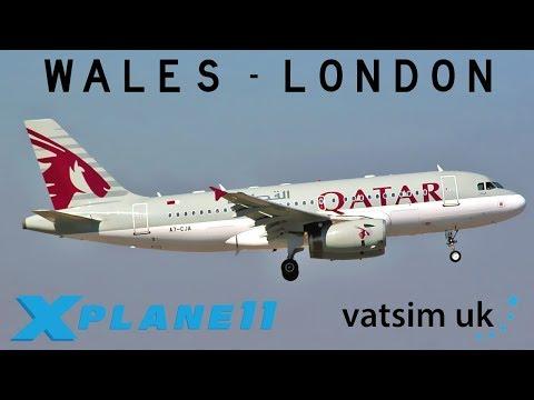 X-Plane 11 | First UK Livestream! | A319 | VATSIM