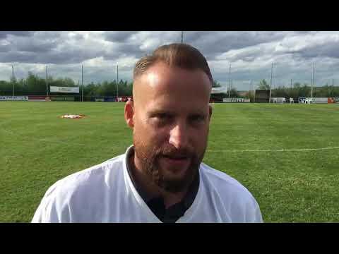Kevin Schmitt, Trainer FSG Ehrang/Pfalzel, nach dem 2:1 im Kreispokalfinale gegen die SG Thomm