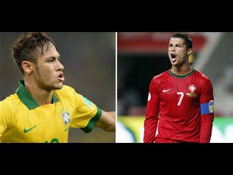 أفضل مهارات ◄ كريستيانو رونالدو Vs نيمار ► 2014 C Ronaldo Vs Neymar