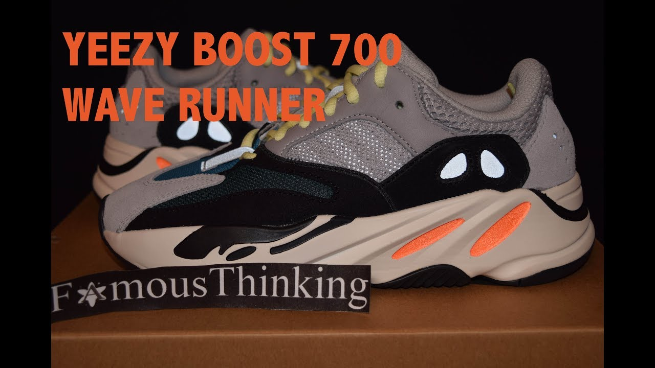 81ecc209a Adidas Yeezy Boost 700 Wave Runner DETAILED Look - YouTube