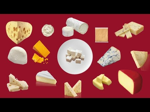 The most common cheese and how to use them