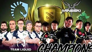 DAC vs TI7 Champions Miracle + FULL Team Liquid vs Mineski Meet on Battlecup EPIC Battle Dota 2