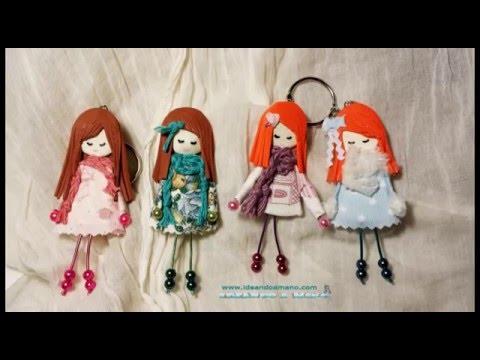 Como hacer broches de muñecas