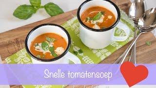 Ella-Marie kookt tomatensoep!