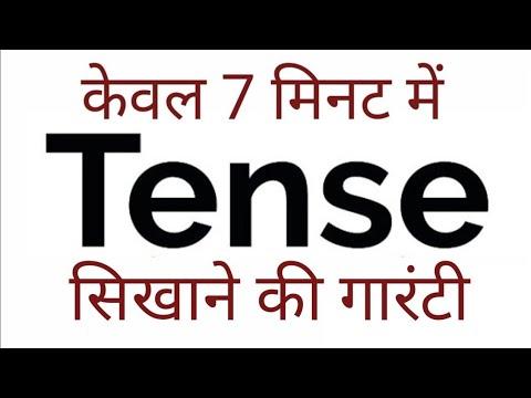 Tense: काल (Basics of English Grammar) Present, Past and Future in Hindi