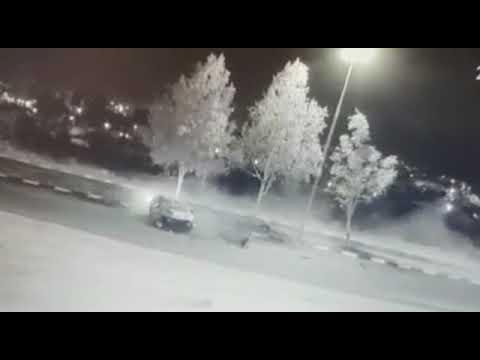 גנב רכב ועשה תאונה קשה. צילום: דוברות המשטרה