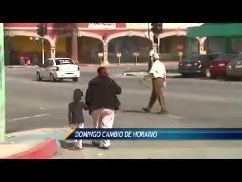 Cambio de horario en Baja California