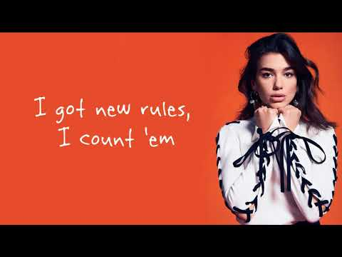 Dua Lipa - New Rules / Lyrics