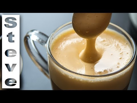 VIETNAMESE EGG COFFEE - How to make your own