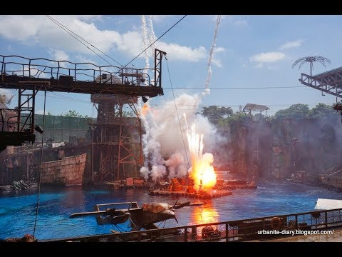 Water world - Universal Studios Singapore sentosa