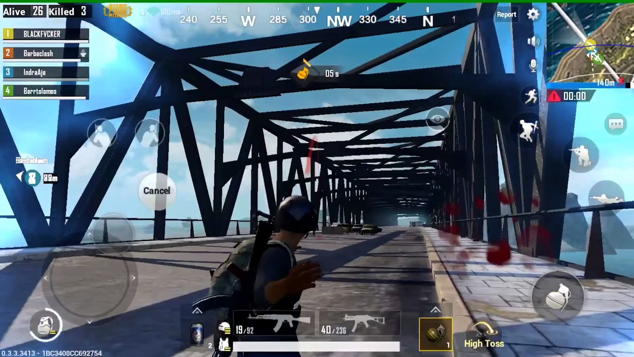 Pubg Mobile  Bridge In Action
