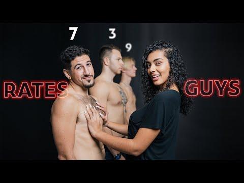 1 Girl vs 10 Guys: Rating Guys Based On Body Hair