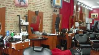 At the barber shop Thumbnail