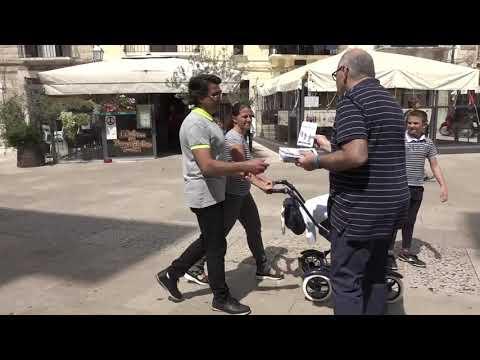"""Bari, in Piazza Mercantile """"Giornata della donazione degli organi"""""""