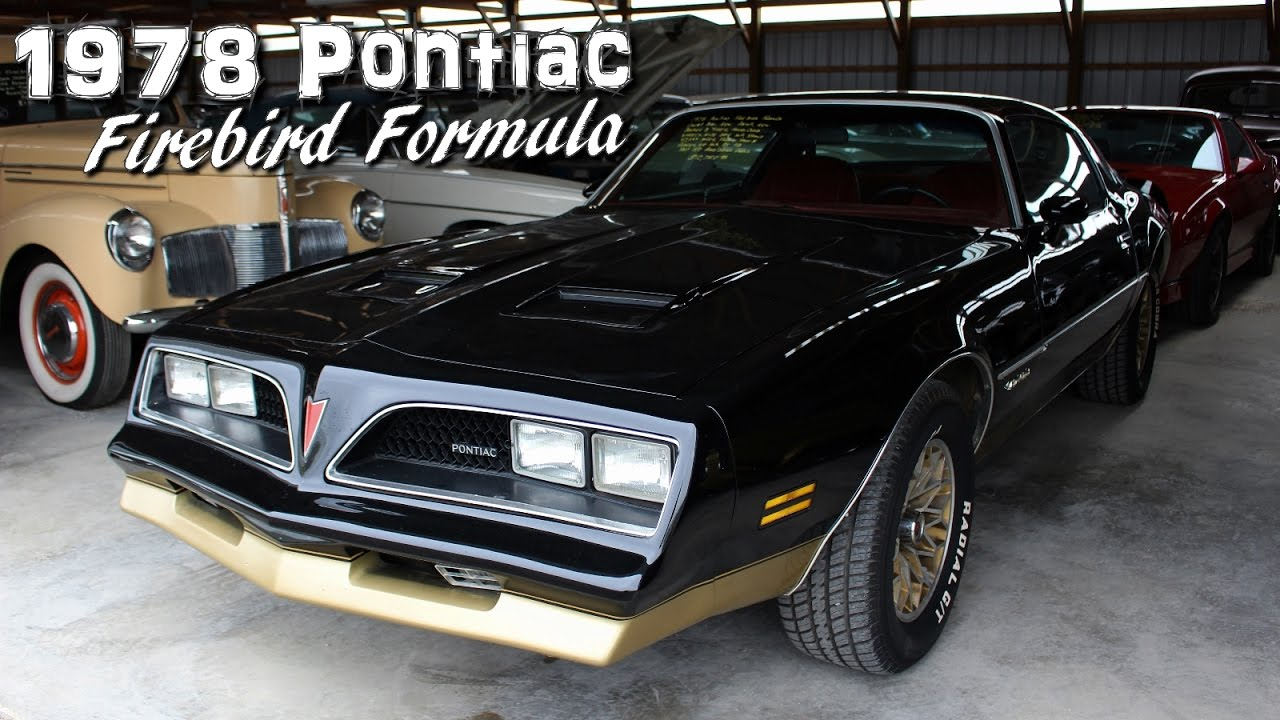 1978 pontiac firebird formula 350 v8 youtube. Black Bedroom Furniture Sets. Home Design Ideas