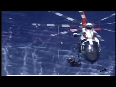 Navy Pilot Recovered by USCG After Jet Crash