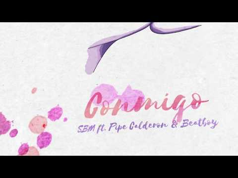 SBM - Conmigo (ft. Pipe Calderon & Beatboy) [Lyric Video]