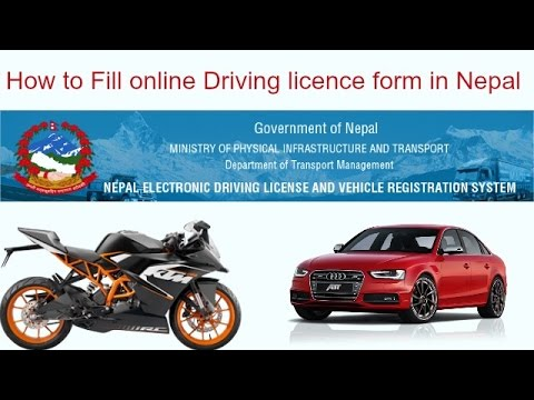 license check, test ground, licence for scooter form, training programs, licence exam question paper, on online form driving licence nepal