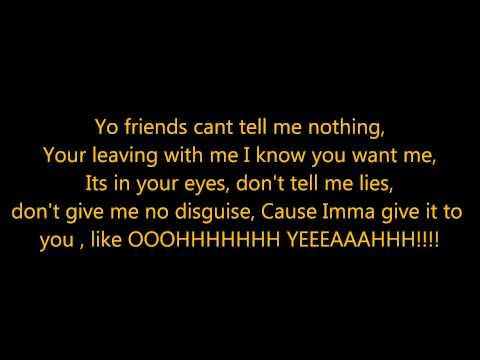 Chris Brown - Oh Yeah Lyrics (On Screen)