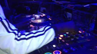 Deejay Mark Killing it In a night club