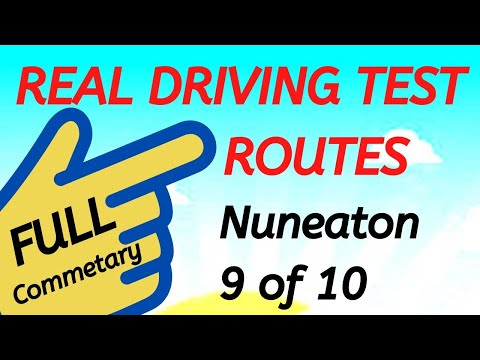 nuneaton-driving-test-routes---(2020)---real-test-route-with-full-commentary---9-of-10