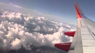 Plane Take off from Inside #1 - Orange County to Phoenix