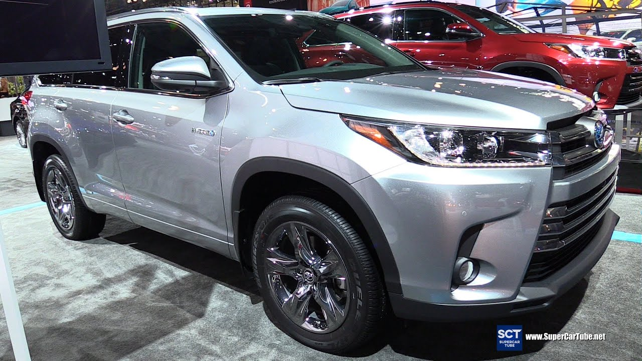 2017 toyota highlander hybrid exterior and interior - Toyota highlander hybrid interior ...