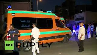 Egypt: Bodies of Russian passenger plane crash victims arrive at morgue in Cairo