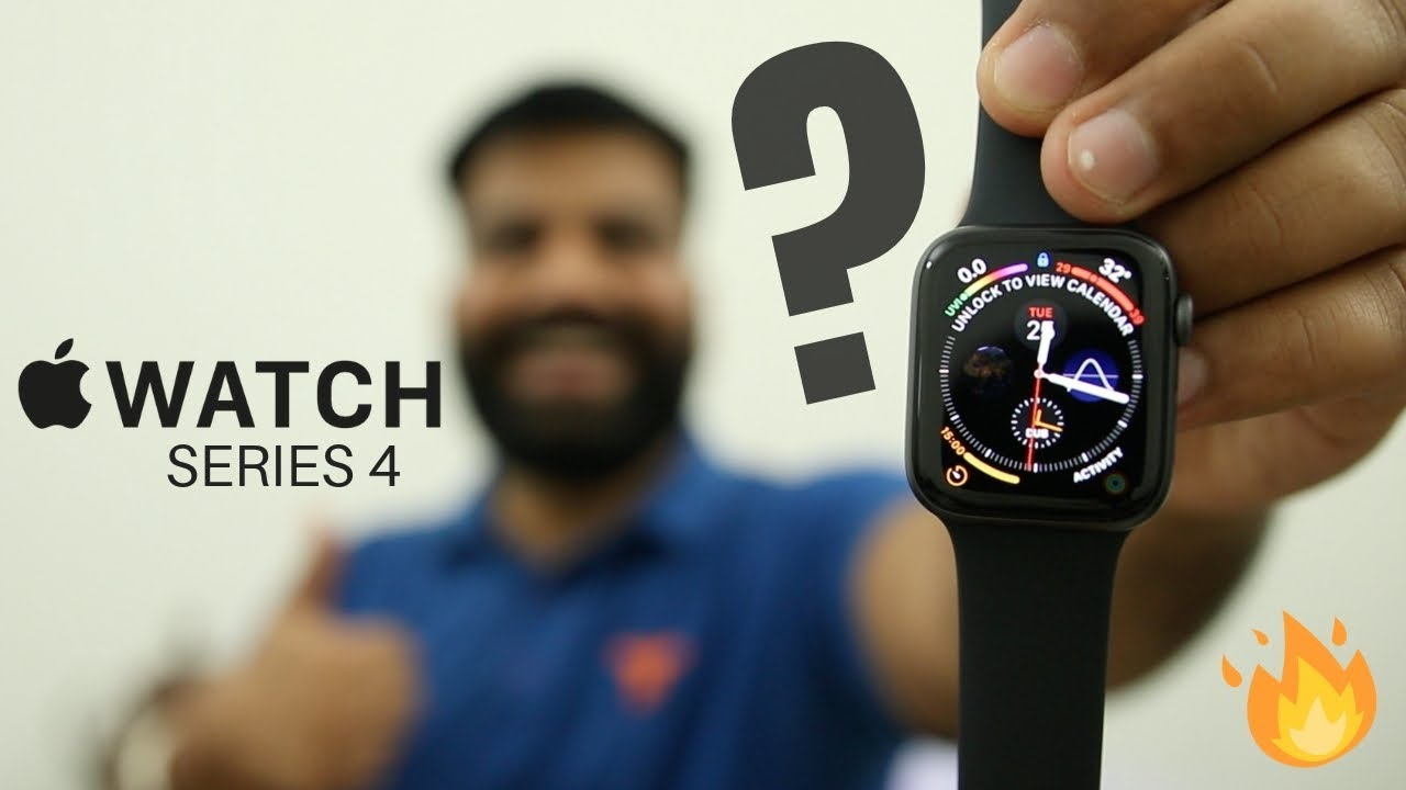 Apple Watch Series 4 Unboxing & First Look - 44mm Space Grey ⌚️????????????