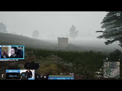 Shroud dies to crossbow headshot out of nowhere