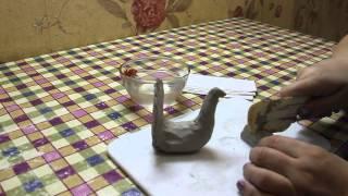 как лепить из глины в детском саду