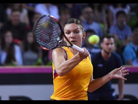 Highlights: Simona Halep (ROU) v Andrea Petkovic (GER)
