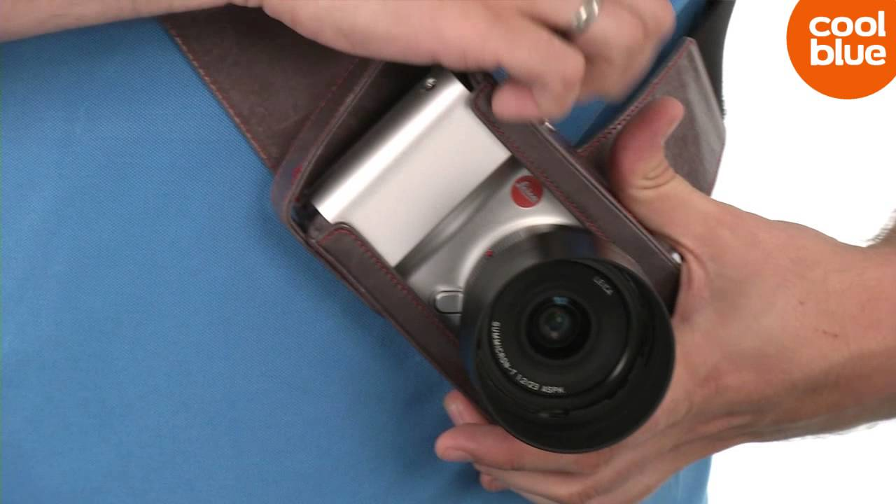 Leica T Holster Productvideo Nl Be Youtube