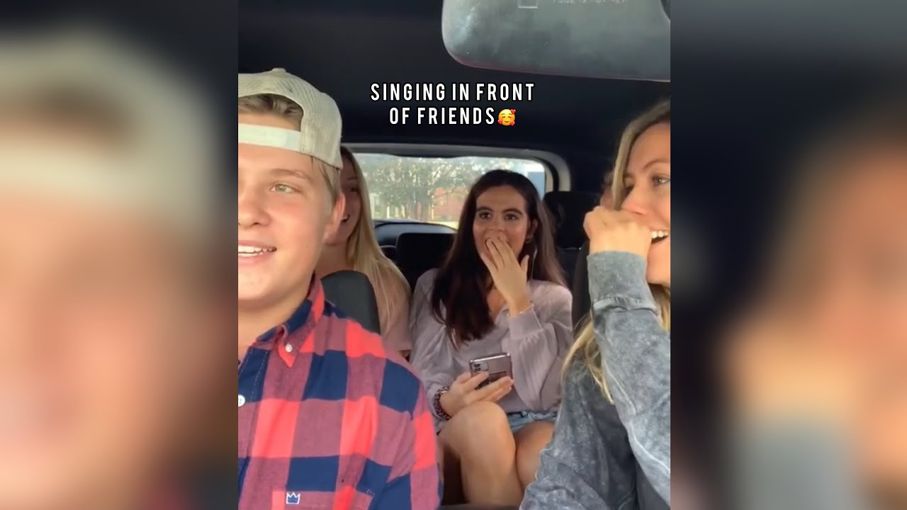 Download Singing In Front Of Friends And Other People For The First Time Compilation🥰