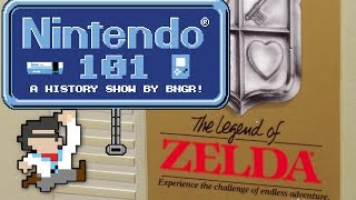 Nintendo 101 - The History of The Legend of Zelda!