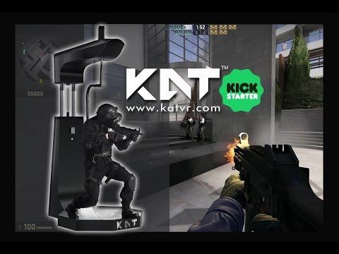KAT WALK - A new Virtual Reality treadmill is now on Kickstarter