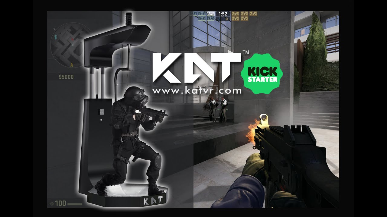 9f5eef308f4a KAT WALK - A new Virtual Reality treadmill is now on Kickstarter ...